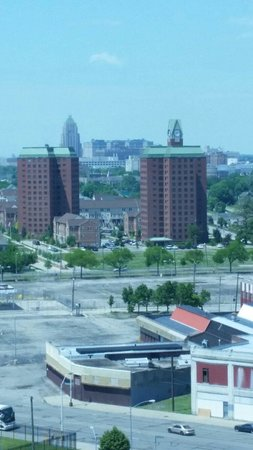 MotorCity Casino Hotel : Our awesome view from our room!