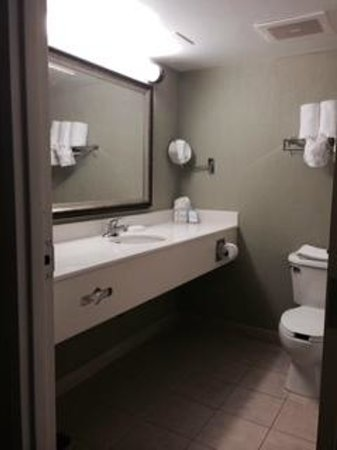 Hampton Inn Ft. Lauderdale /Downtown Las Olas Area: Clean bathroom