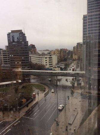 NH Collection Plaza Santiago: vista desde piso 9