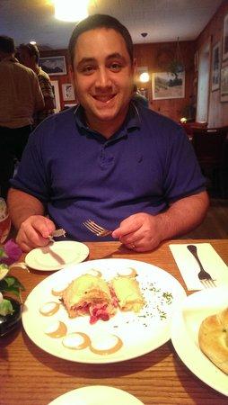 Mountain Brauhaus Restaurant : Ruben Steudel....yum!