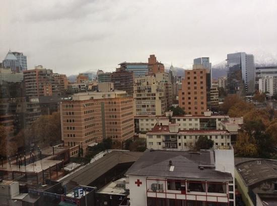 NH Collection Plaza Santiago: Sanhattan desde el piso 9