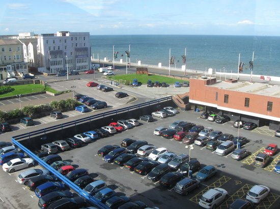 Hilton Blackpool Hotel : Car Park View