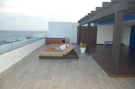 Hard Rock Hotel Riviera Maya: Rooftop lounge
