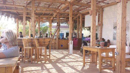 Caribbean Bar : vista do restaurante