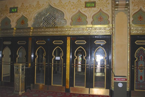 Fox Theatre: Even the doors have a Middle Eastern influence to them.