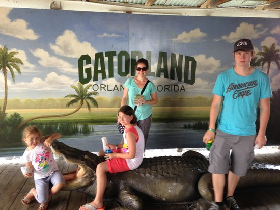 Gatorland : Having fun in Orlando.