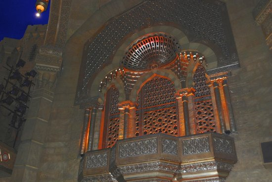 Fox Theatre: Some of the 3,622 pipes of the Mightly Moeller organ are behind here.
