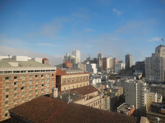 The Westin St. Francis San Francisco on Union Square: view from 23rd floor room