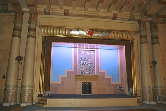 Fox Theatre: The stage in the Egyptian room