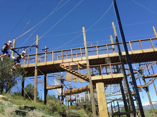 Browns Canyon Adventure Park: The swing