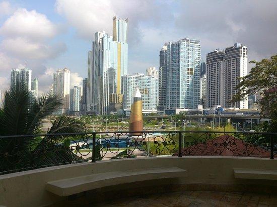 Plaza Paitilla Inn: vista desde el hotel
