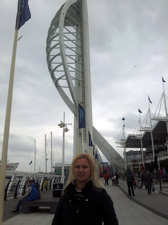 Spinnaker Tower: General view