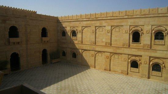 Suryagarh: Courtyard