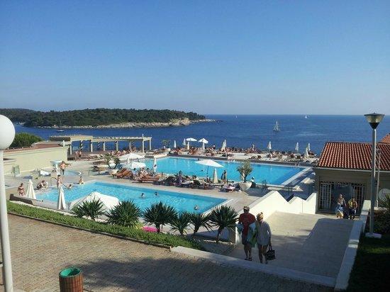 Park Plaza Verudela Pula: Hotel pool
