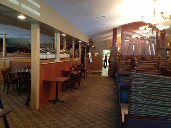 Sam's Steak and Seafood: Dining room