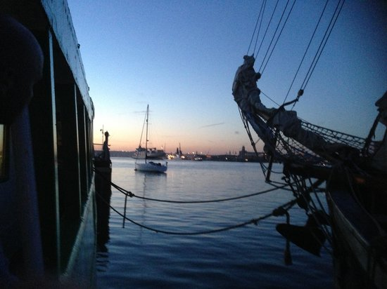 Trinity's At The Lightship: View from lower deck