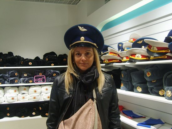 Observation Deck in the Moscow-City: Acquisti souvenir.