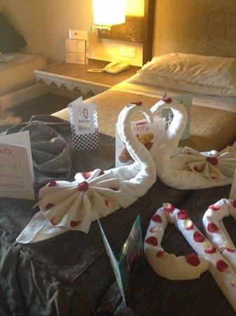 ClubHotel Riu Tikida Palmeraie: birthday towels