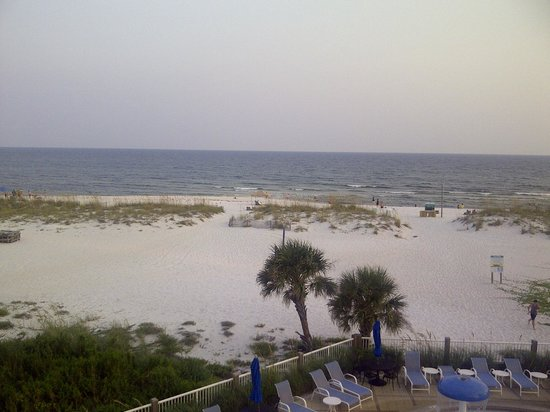 SpringHill Suites Pensacola Beach: My view from the balcony