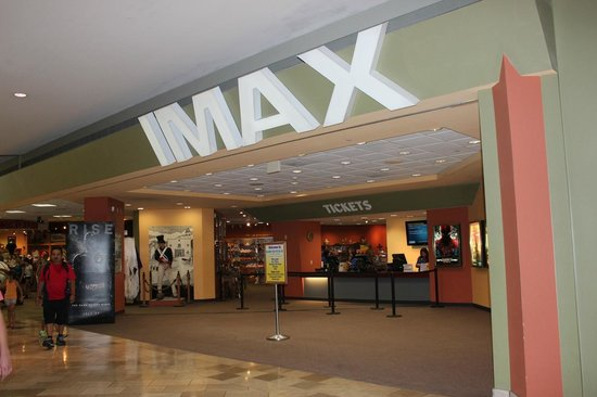 Alamo IMAX Theatre: The Ticket Desk Area