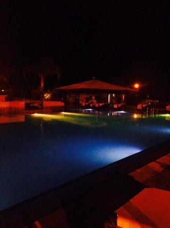 ClubHotel Riu Tikida Palmeraie: pool at night
