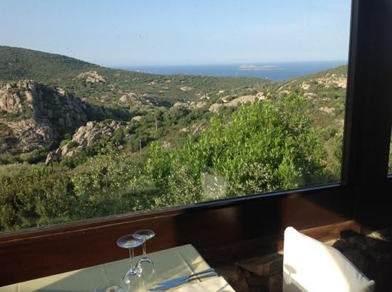 Rocce Sarde Hotel: restaurangen. vilken utsikt