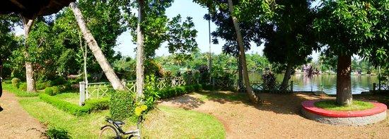The Pamba Heritage Villa: View from the veranda