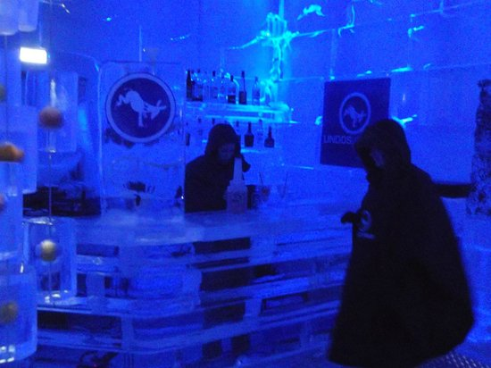 Lindos Ice Bar: interior