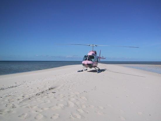 Shangri-La Hotel, The Marina, Cairns : l elicottero