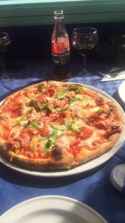 L'Artista : Americana Pizza (I think!)