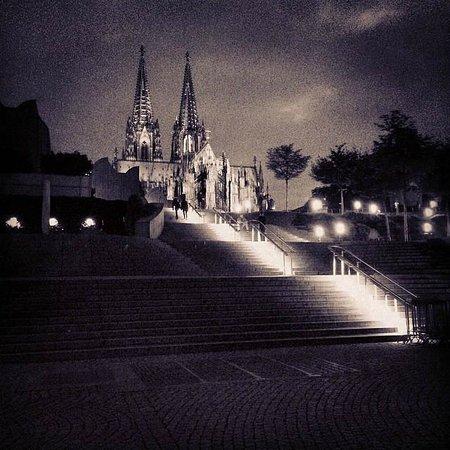 Kölner Dom: Dom by Night
