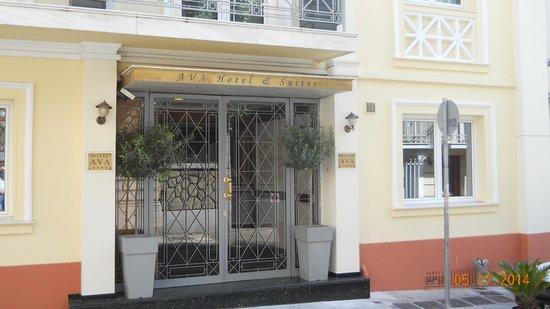 AVA Hotel Athens : AVA Hotel Entrance
