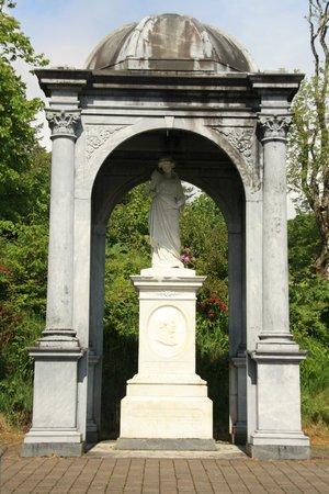 Lews Castle: James Matheson memorial