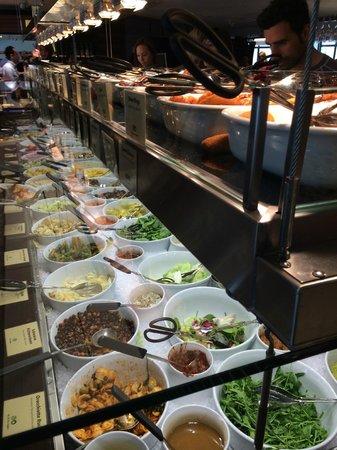 Haus Hiltl: Hiltl vegetarian buffet