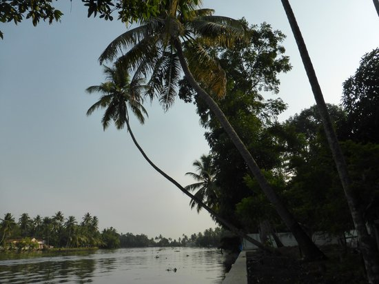 The Pamba Heritage Villa: Water's edge