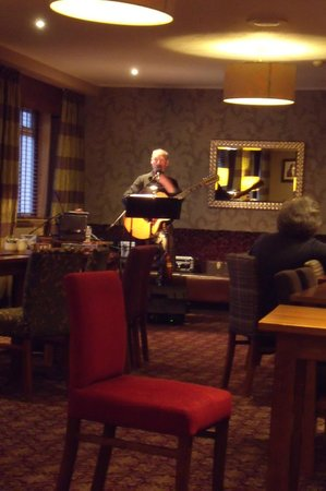 Angus Hotel: entertainment on one night