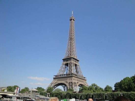 La Tour Eiffel desde el Bateaux Mouches