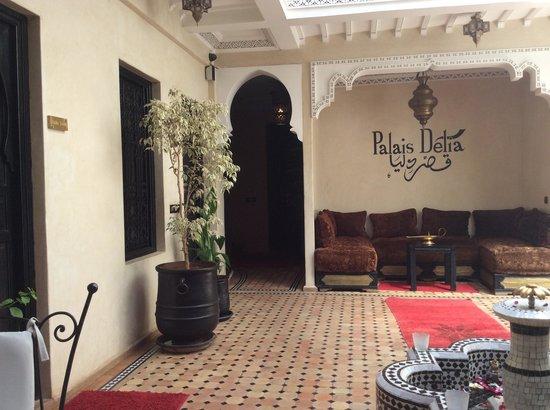 Riad Palais Delia : View as you enter.