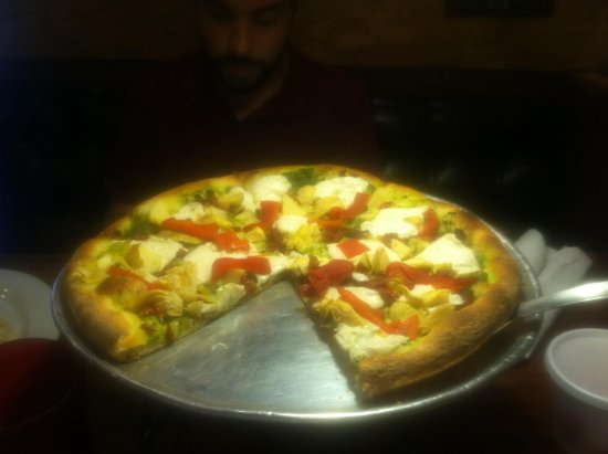 Brooklyn Boyz Pizza: Vegan pizza
