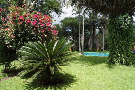 Arusha Safari Lodge: Garten