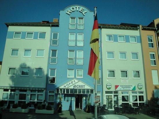 Achat Comfort Frankenthal/Pfalz: Excelente hotel aunque un poco lejano de las principales atracciones