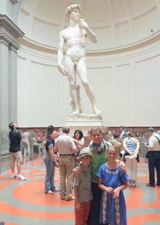 Galería de la Academia: Statue of David
