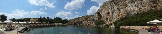 Vouliagmeni Lake : Panorama