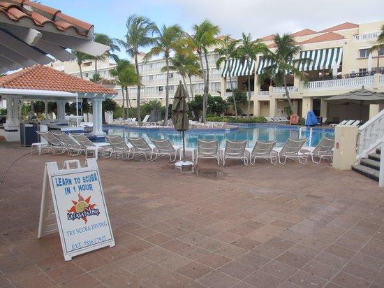 El Conquistador Resort, A Waldorf Astoria Resort: El Con Main Pool Ground View