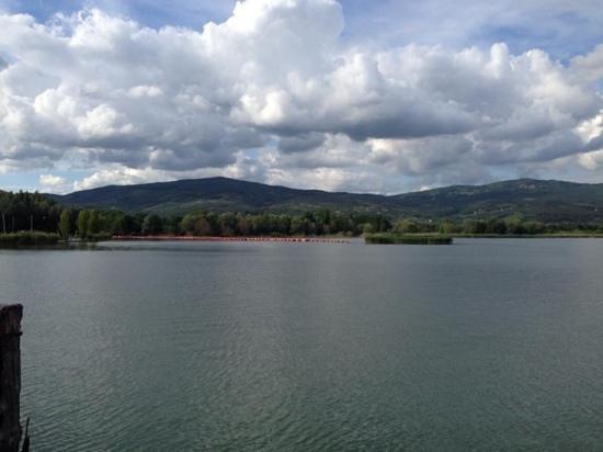 Villa Baroncino: the lake itself