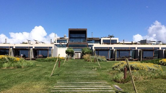 Areias do Seixo : Hotel from the garden