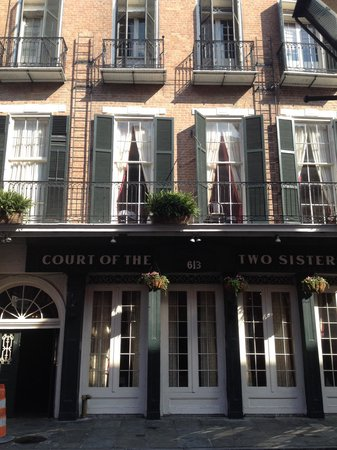 Court of Two Sisters : On Royal Street