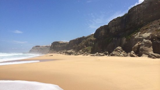 Areias do Seixo : The beach