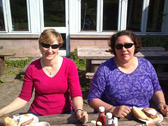 Applecross Walled Garden: Breakfast!
