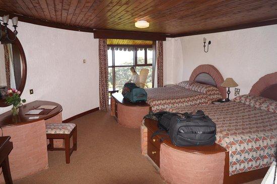 Ngorongoro Sopa Lodge: Zimmer
